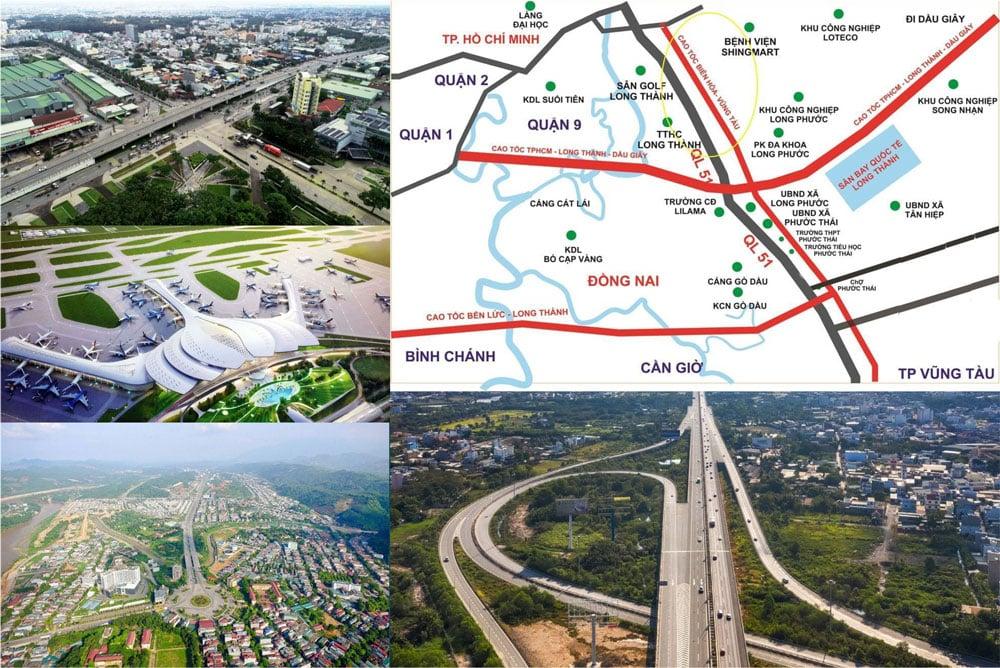 Sư bùng nổ hạ tầng đã giúp cho bất động sản Đồng Nai phát triển mạnh mẻ