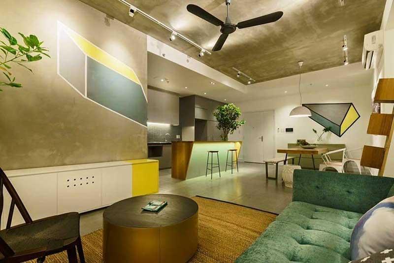 Cho thuê căn hộ Sunrsie City 2 phòng ngủ