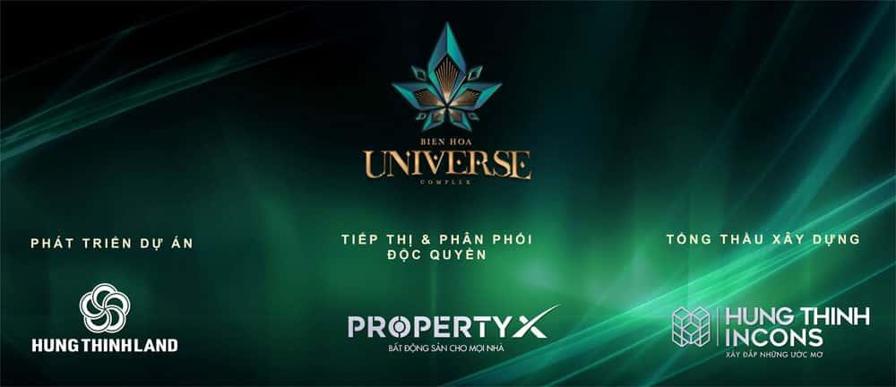 Đơn vị phát triển dự án Biên Hòa Universe Complex