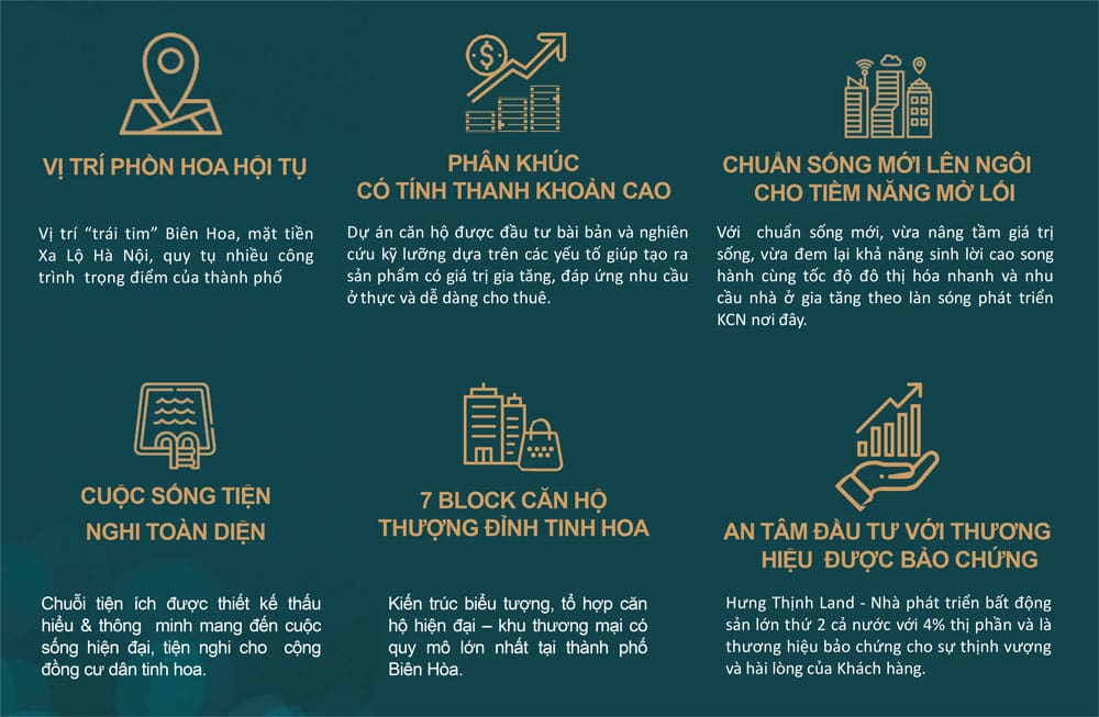 6 Lý do bạn nên chọn mua Biên Hòa Universe Complex
