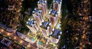 Phối cảnh tổng thể dự án căn hộ Biên Hòa Universe Complex