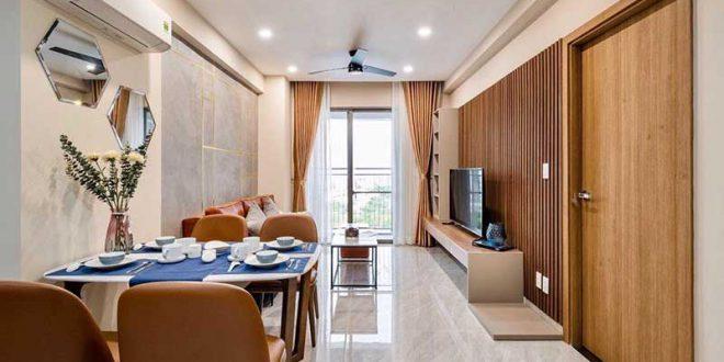nội thất căn hộ Saigon South Residence