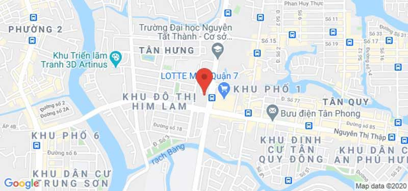 Vị trí căn hộ Saigon South