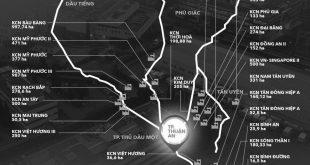Có đến 27 khu công nghiệp quanh Thuận An