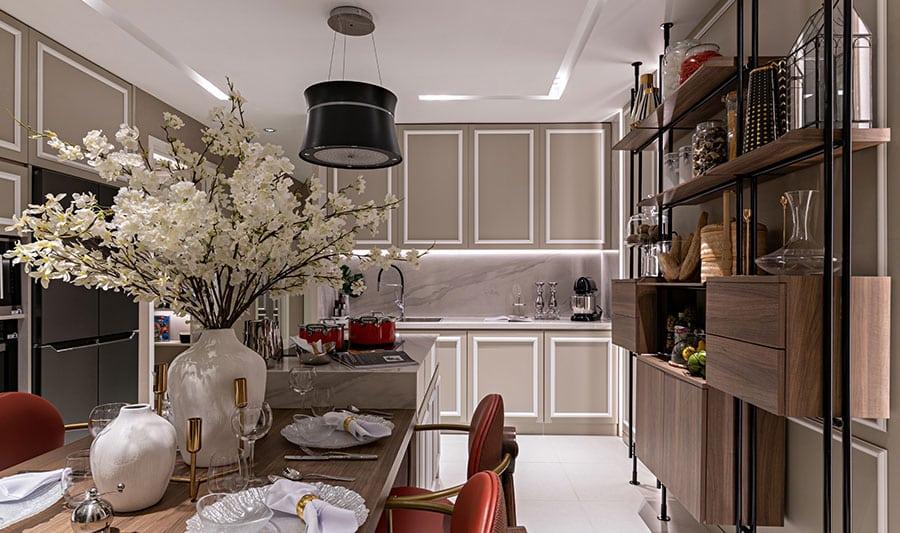 Căn hộ mẫu Lavita Thuận An phòng bếp