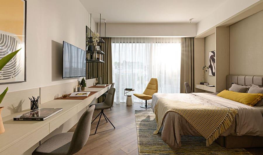 Căn hộ mẫu Lavita Thuận An phòng ngủ 2