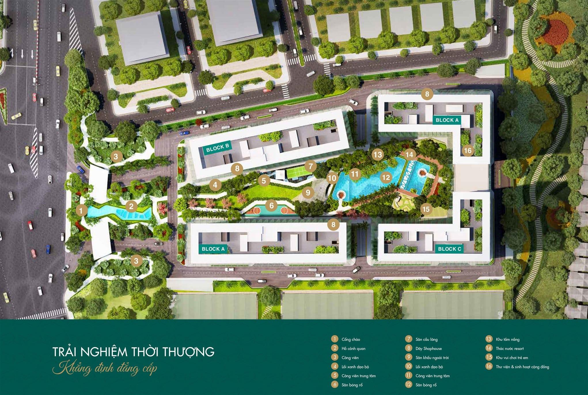 Mặt bằng tổng thể căn hộ Lavita Thuận An