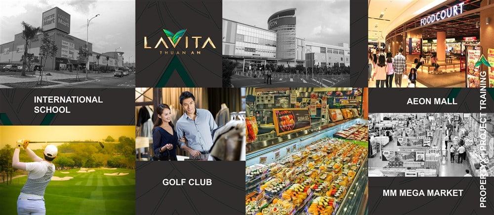 Lavita Thuận An xanh, sạch ,đẹp