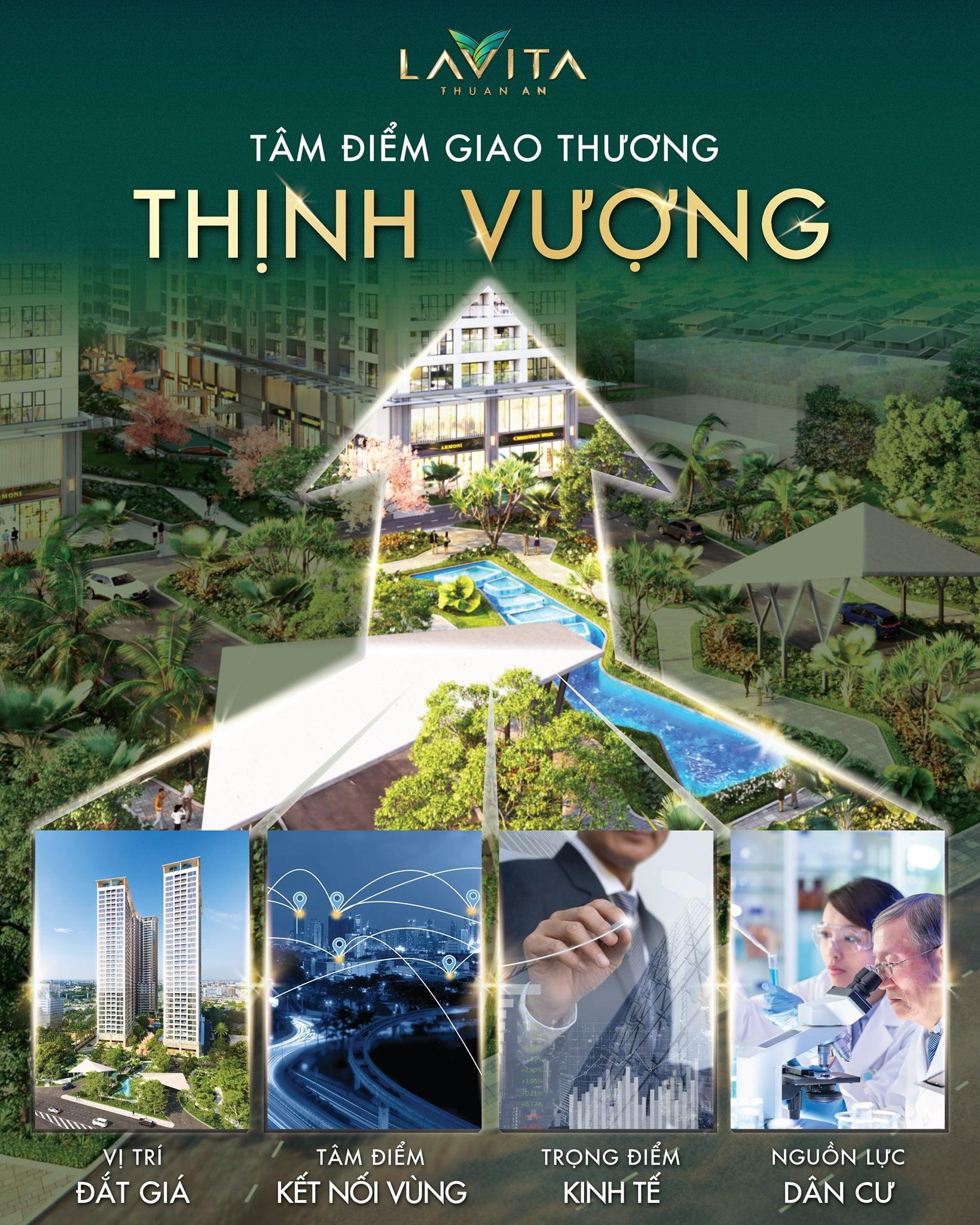 Lavita Thuận An tâm điểm giao thương