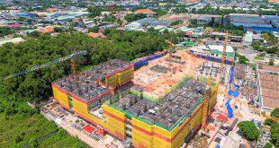 Hình ảnh thi công xây dựng Lavita Thuận An