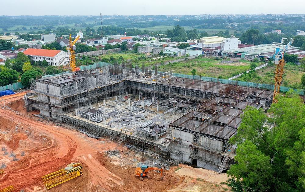 Hình ảnh tổng thể Block C và Block D Lavita Thuận An