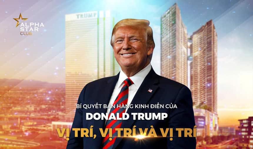 Kinh nghiệm đầu tư Bất động sản phong cách Donald Trump: VỊ TRÍ LÀ GIÁ TRỊ TRƯỜNG TỒN.