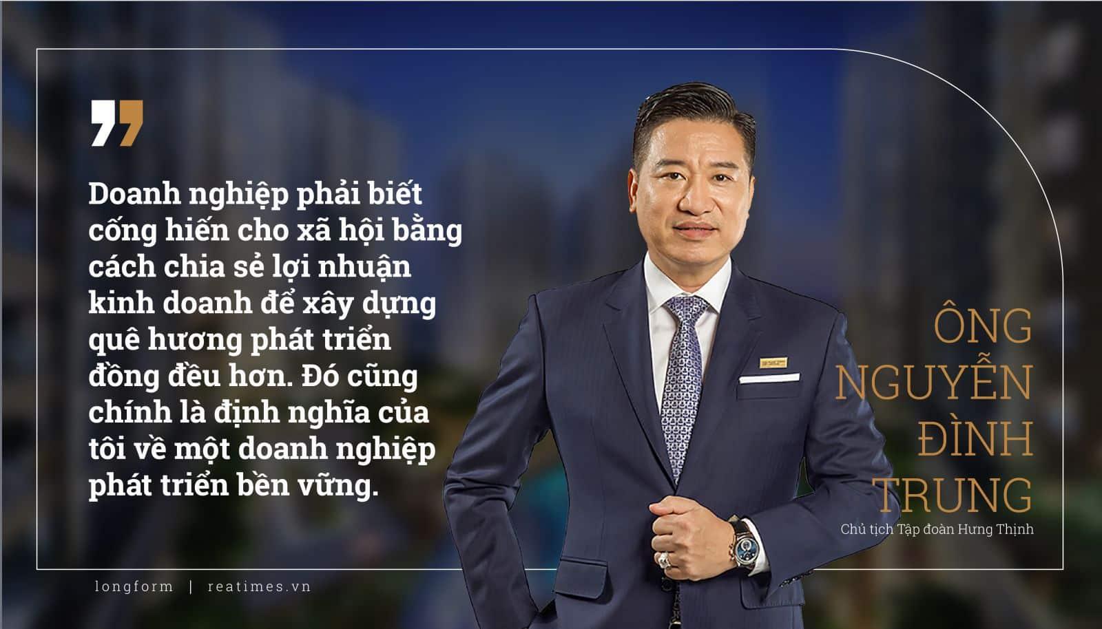 Doanh nhân Nguyễn Đình Trung Hưng Thịnh
