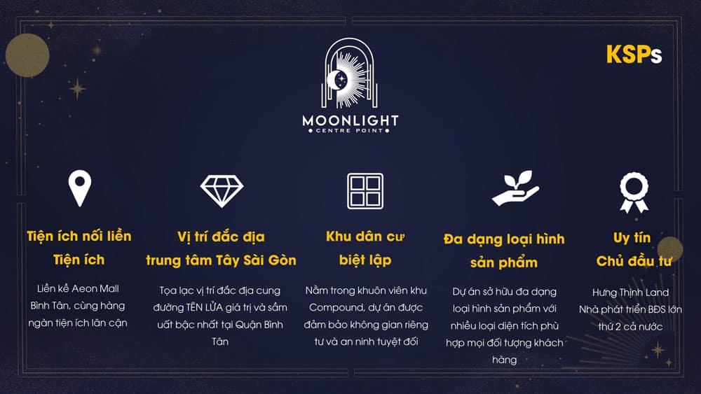 Lý do chọn mua Moonlight Centre Point