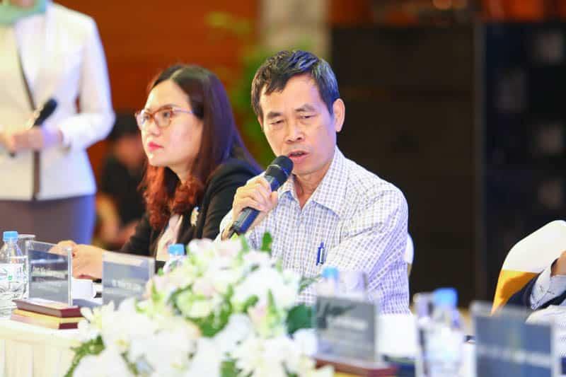Ông Bùi Văn Doanh, Viện trưởng Viện Nghiên cứu Bất động sản Việt Nam