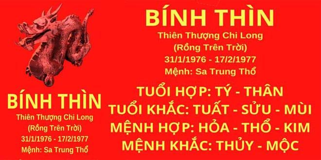 sinh nam 1976 binh thinh hop huong nha nao