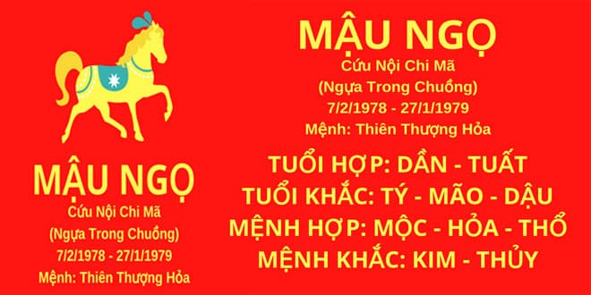 sinh nam 1978 mau ngo hop huong nha nao