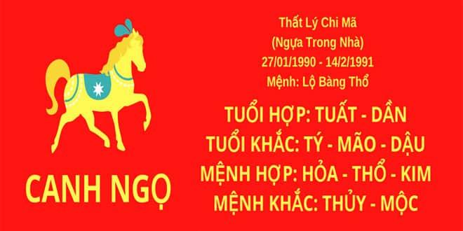 sinh nam 1990 canh ngo hop huong nha nao
