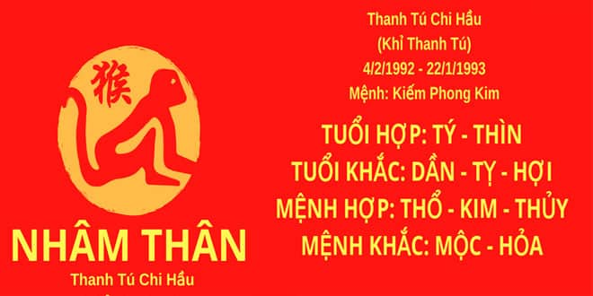 sinh nam 1992 nham than hop huong nha nao